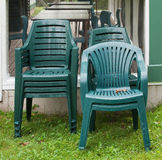 Stacked Chairs Stock Images