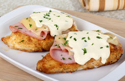 Stacked Chicken Cordon Bleu Mead Stock Image