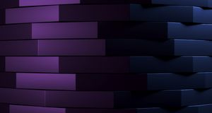 Stacked clean boxes abstract background. 3D Rendering. Stacked clean boxes abstract background closeup high contrast. 3D Rendering Stock Photo