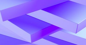 Stacked clean boxes abstract background. 3D Rendering. Stacked clean boxes abstract background closeup high contrast. 3D Rendering Stock Photos
