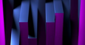 Stacked clean boxes abstract background. 3D Rendering. Stacked clean boxes abstract background closeup high contrast. 3D Rendering Stock Photography