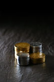 Stacked Coins Royalty Free Stock Image