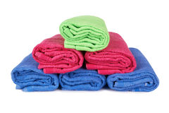 Stack of towels Stock Photography