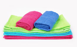 Stack of towels Royalty Free Stock Photography