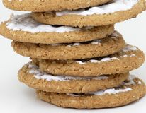 Stacked Cookies stock photography