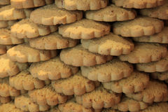 Stacked cookies Royalty Free Stock Images