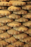 Stacked cookies Royalty Free Stock Photos
