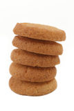 Stacked cookies Stock Image