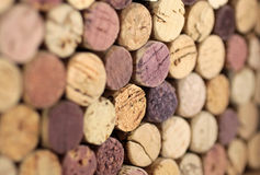 Stacked corks Royalty Free Stock Photo