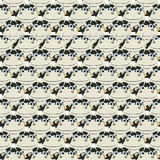 Stacked cows pattern Stock Photography