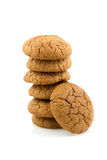 Stacked delicious macaroon cookies Royalty Free Stock Image
