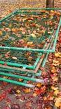 Stacked fences Stock Photos