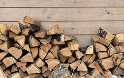 Stacked firewood as background, closeup. Heating house in winter stock photos