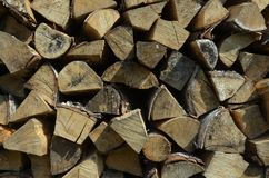 Firewood 5 stock image