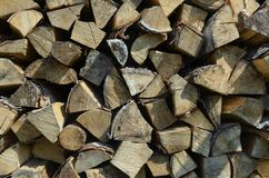 Firewood 3 stock images