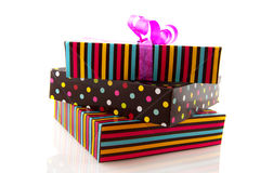 Stacked gifts Stock Photography