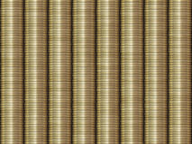 Stacked Golden Coins Background Royalty Free Stock Photography