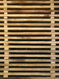 Stacked horizontal boards Royalty Free Stock Photos