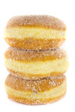 Stacked Jelly Donuts Royalty Free Stock Image
