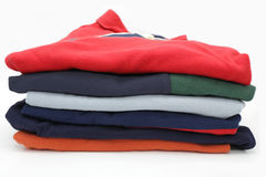 Stacked laundry Royalty Free Stock Photo