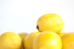 Stacked Lemons Stock Photos