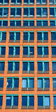Stacked living. Facade of a modern office building in New Haven, Connecticut Royalty Free Stock Images