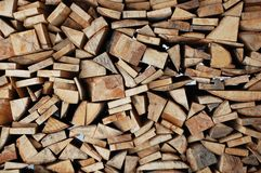 Stacked Log Stock Images