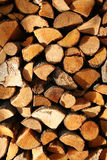 Stacked logs. Pile of logs Stock Photos
