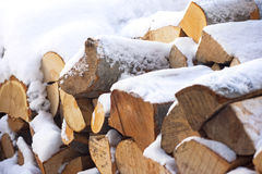 Stacked lumber Stock Images