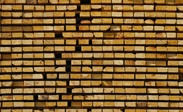 Stacked Lumber Royalty Free Stock Photos