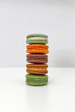 Stacked Macarons Stock Photo