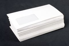 Stacked Mail Stock Images