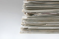 Stacked mail Royalty Free Stock Images