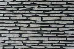 Stacked natural stones textured with gray colour photo taken in Bogor Indonesia. Java Royalty Free Stock Photography