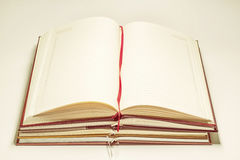 Stacked notebooks Royalty Free Stock Images