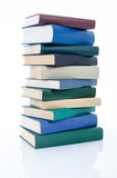 Stacked old books Royalty Free Stock Images