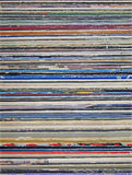 Stacked Old L.P. Record Sleeves. Royalty Free Stock Images