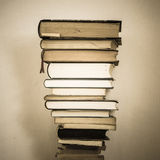 Stacked old and new books Royalty Free Stock Photography
