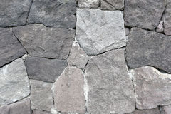 Stacked old stone wall. Royalty Free Stock Photo