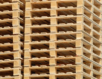 Stacked Pallets Stock Photos