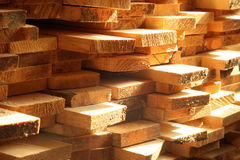 Free Stacked Pallets Of Construction Lumber Royalty Free Stock Photography - 70307987
