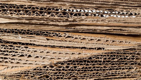 Stacked paperboard Stock Photos