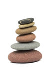 Stacked pebbles Stock Photography