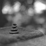 Stacked pebbles. Misawa japan aomori Royalty Free Stock Images