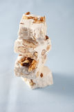 Stacked pieces of nougat Royalty Free Stock Images