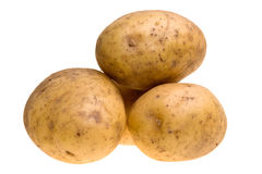 Stacked Potatoes Stock Photo