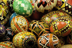 Stacked Pysanky Royalty Free Stock Image