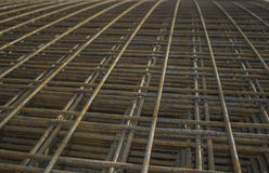 Stacked rebar grids Stock Photos