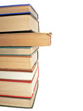 Stacked Reference Books Stock Photos