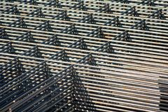 Stacked Reinforcing Grids Stock Image